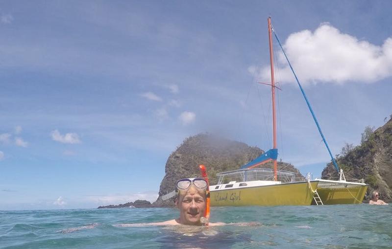island girl catamaran