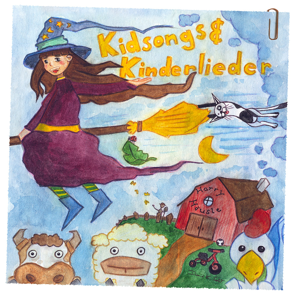 Cover Kidsongs & Kinderlieder WEB